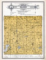 Baldwin Township, Elk Lake, Sherburne County 1914